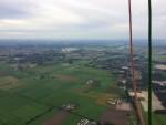 Ongeëvenaarde luchtballon vaart over de regio Beesd op donderdag 13 september 2018