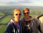 Jaloersmakende ballonvlucht over de regio Beesd op donderdag 13 september 2018