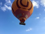 Comfortabele heteluchtballonvaart in de omgeving Doetinchem op donderdag 13 september 2018