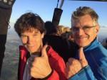 Geweldige heteluchtballonvaart vanaf startlocatie Doetinchem op donderdag 13 september 2018