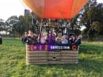Formidabele heteluchtballonvaart omgeving Tilburg op donderdag 13 september 2018