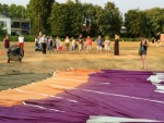 Bijzondere ballonvlucht opgestegen op startveld Doetinchem donderdag 19 juli 2018