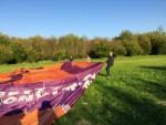 Uitzonderlijke ballonvlucht opgestegen op startlocatie Beesd op donderdag 27 september 2018