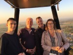 Hoogstaande ballonvaart opgestegen op startveld Beesd op donderdag 27 september 2018