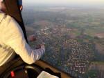 Meesterlijke ballonvlucht gestart op opstijglocatie Colmschate op donderdag 27 september 2018
