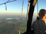 Exceptionele luchtballonvaart gestart in Colmschate op donderdag 27 september 2018
