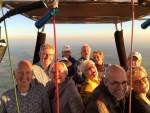 Uitzonderlijke ballon vlucht in de omgeving Colmschate op donderdag 27 september 2018