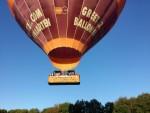 Uitmuntende luchtballon vaart vanaf opstijglocatie Colmschate op donderdag 27 september 2018