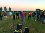Prettige heteluchtballonvaart opgestegen op startlocatie Eindhoven op donderdag 27 september 2018