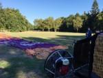 Te gekke heteluchtballonvaart vanaf startlocatie Eindhoven op donderdag 27 september 2018