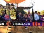 Formidabele luchtballonvaart opgestegen in Eindhoven op donderdag 27 september 2018