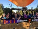 Indrukwekkende ballonvlucht vanaf opstijglocatie Eindhoven op donderdag 27 september 2018