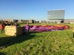 Bijzondere ballon vlucht gestart op opstijglocatie Veghel op donderdag 27 september 2018