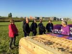 Prettige ballonvaart gestart op opstijglocatie Veghel op donderdag 27 september 2018
