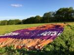 Waanzinnige ballon vlucht startlocatie Beesd donderdag  3 mei 2018