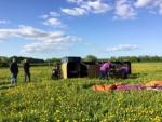 Bijzondere heteluchtballonvaart regio Beesd donderdag 3 mei 2018