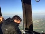 Fascinerende heteluchtballonvaart opgestegen op startlocatie Beesd donderdag  3 mei 2018