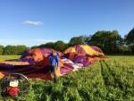 Indrukwekkende ballon vlucht vanaf startlocatie Beesd donderdag 3 mei 2018