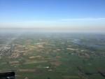 Voortreffelijke ballon vaart vanaf startlocatie Beesd donderdag  3 mei 2018