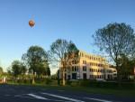 Fabuleuze ballonvlucht opgestegen op startlocatie Colmschate donderdag  3 mei 2018