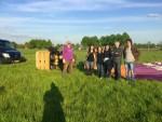 Ongekende luchtballon vaart regio Deurne donderdag 3 mei 2018