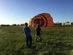 Comfortabele heteluchtballonvaart boven de regio Joure donderdag 3 mei 2018