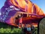 Heerlijke ballon vlucht boven de regio Joure donderdag 3 mei 2018