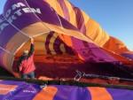 Fascinerende luchtballon vaart vanaf startlocatie Joure donderdag 3 mei 2018