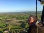 Grandioze luchtballonvaart in de buurt van Leek donderdag 3 mei 2018