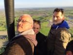 Weergaloze ballonvaart gestart op opstijglocatie Leek donderdag 3 mei 2018