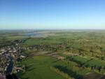 Hoogstaande ballon vlucht in de omgeving Leek donderdag 3 mei 2018