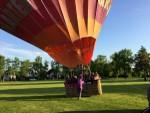 Exceptionele heteluchtballonvaart in de buurt van Uden donderdag 3 mei 2018