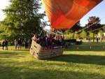 Bijzondere heteluchtballonvaart boven de regio Uden donderdag 3 mei 2018