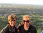 Buitengewone luchtballonvaart over de regio 's-hertogenbosch op donderdag 30 augustus 2018