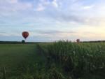 Relaxte ballonvaart gestart in Sprang-capelle op donderdag 30 augustus 2018