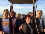 Uitzonderlijke heteluchtballonvaart in Sprang-capelle op donderdag 30 augustus 2018