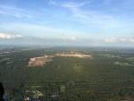 Waanzinnige ballon vlucht vanaf startveld Sprang-capelle op donderdag 30 augustus 2018