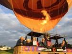 Relaxte ballonvlucht in Arnhem op donderdag  4 oktober 2018