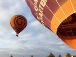 Exceptionele ballonvaart over de regio Arnhem op donderdag  4 oktober 2018