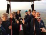 Super ballon vlucht omgeving Arnhem op donderdag  4 oktober 2018