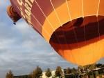 Spectaculaire ballon vlucht in Arnhem op donderdag  4 oktober 2018
