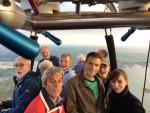Spectaculaire ballonvaart in de omgeving Arnhem op donderdag  4 oktober 2018