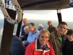 Exceptionele ballonvaart gestart op opstijglocatie Arnhem op donderdag  4 oktober 2018