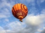 Prachtige luchtballon vaart omgeving Arnhem op donderdag  4 oktober 2018
