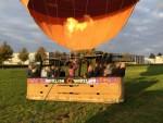Sublieme luchtballonvaart regio Arnhem op donderdag  4 oktober 2018