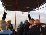 Spectaculaire luchtballon vaart gestart in Arnhem op donderdag  4 oktober 2018