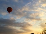 Relaxte ballon vaart gestart in Arnhem op donderdag  4 oktober 2018