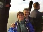 Ultieme luchtballonvaart gestart op opstijglocatie Arnhem op donderdag  4 oktober 2018