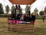 Weergaloze luchtballon vaart gestart in Gorinchem op donderdag  4 oktober 2018