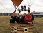 Adembenemende luchtballonvaart startlocatie Gorinchem op donderdag 4 oktober 2018